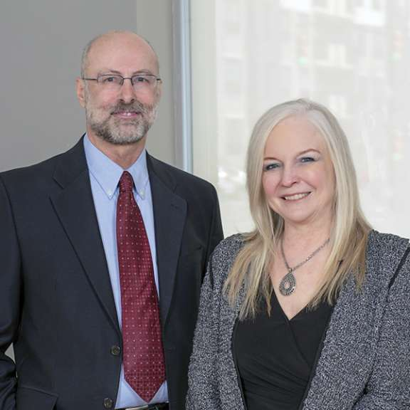 Attorneys Dennis Cantrell and Susan Mehringer joined Katz Korin Cunningham attorneys at law in the first half of 2020 along with other members of their law firm