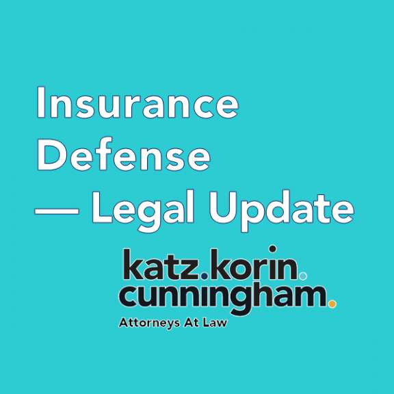 Insurance Defense Updates and Related Blogs by the attorneys of Katz Korin Cunningham in Indianapolis.