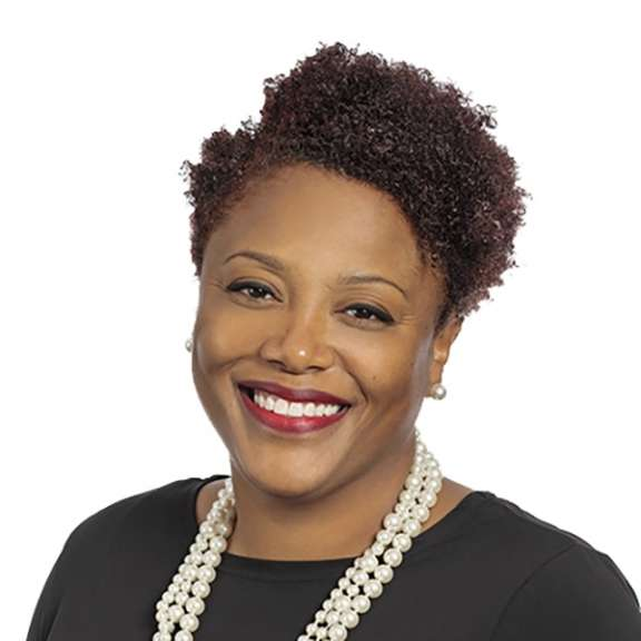 Photograph of Thakena Hogue. Thakena is an attorney in the Health Care Law Practice Group with Katz Korin Cunningham in Indianapolis.