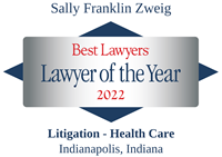 Sally Franklin Zweig 2022 Best Lawyers Lawyer of the Year Litigation Health Care